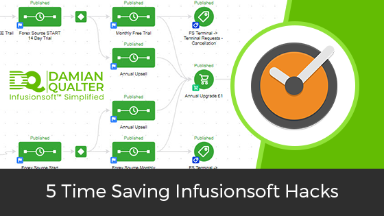 time saving infusionsoft hacks