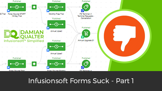 infusionsoft forms