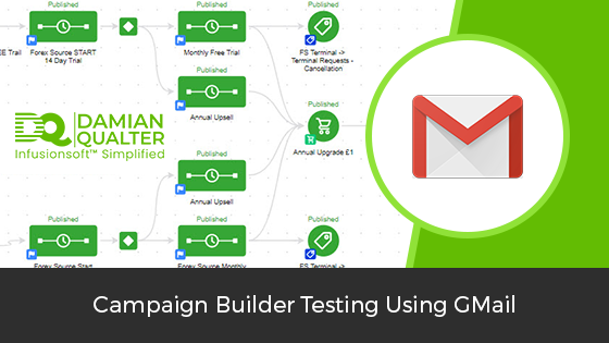 Infusionsoft Campaign Builder Using Gmail Hack