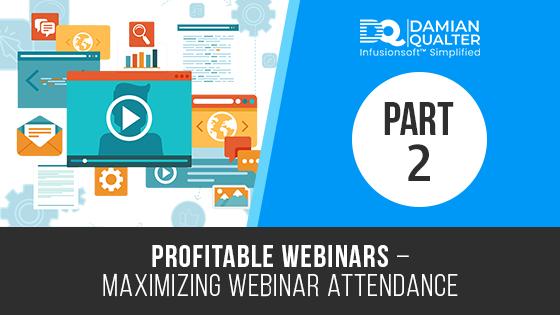 maximizing webinar attendance