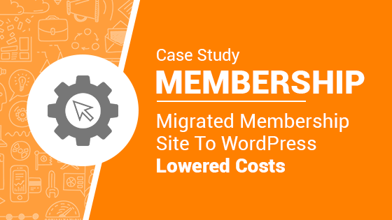 migrated membership site to wordpress