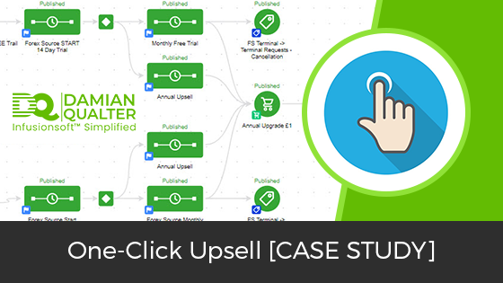 Infusionsoft One Click Upsell