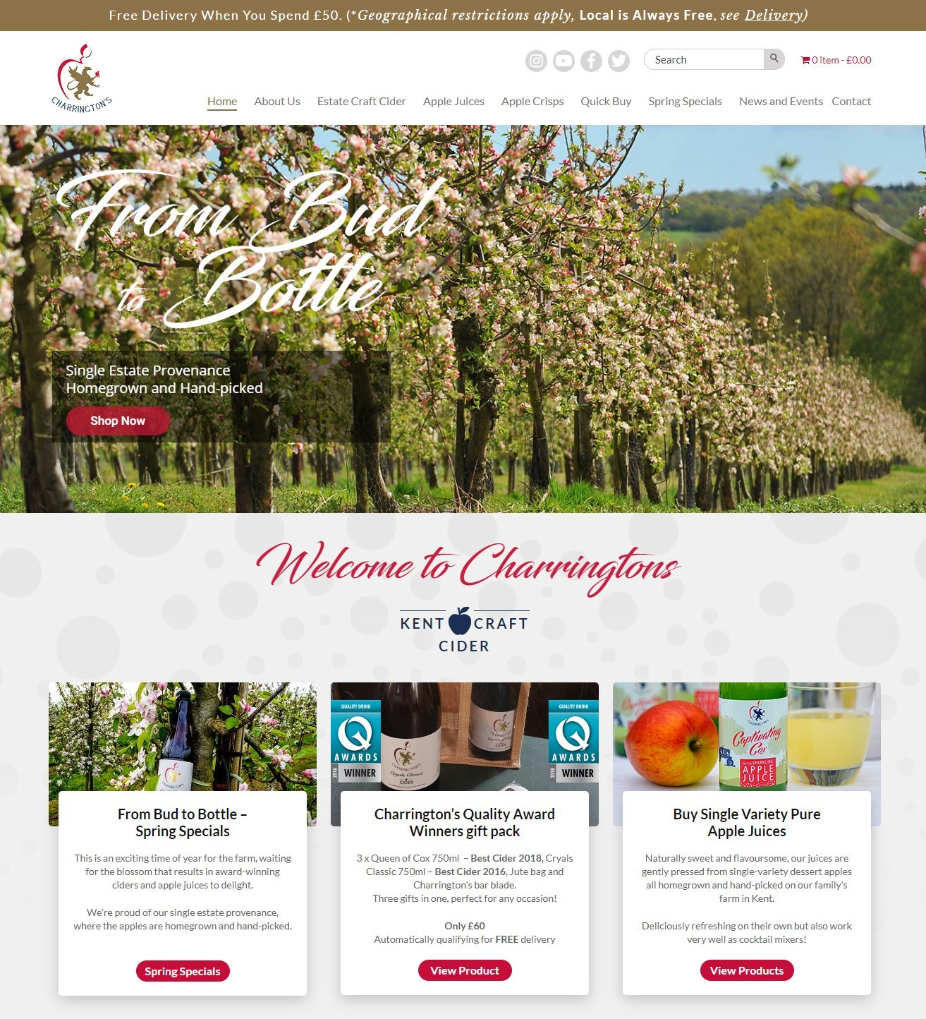 charringtonsdrinks.com, e-commerce websites