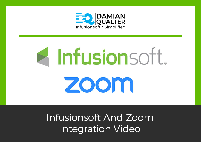Infusionsoft And Zoom Integration