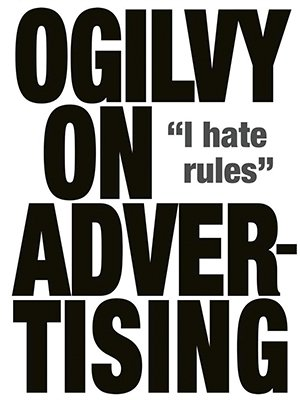 ogilvy on advertising, david ogilvy