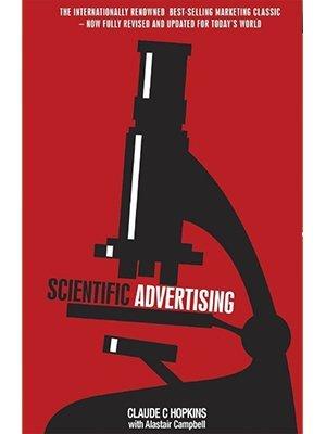 Scientific Advertising, Claude C Hopkins, Alastair Campbell
