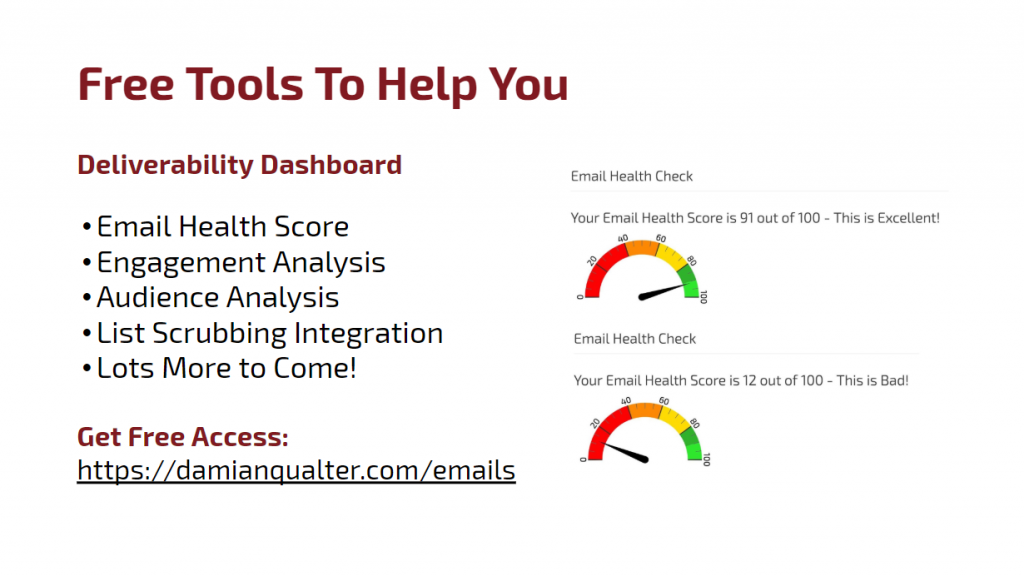 Free email deliverability tools