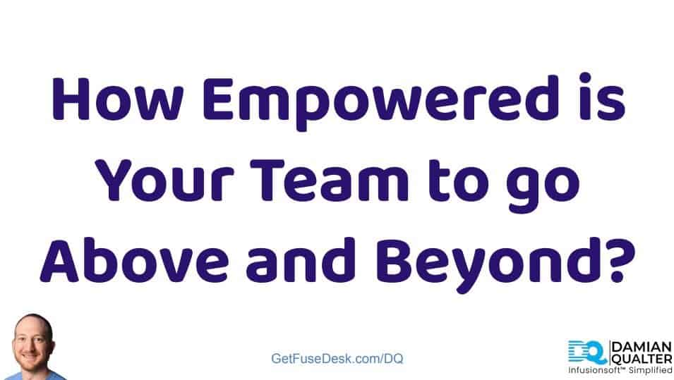 how empowered is your team