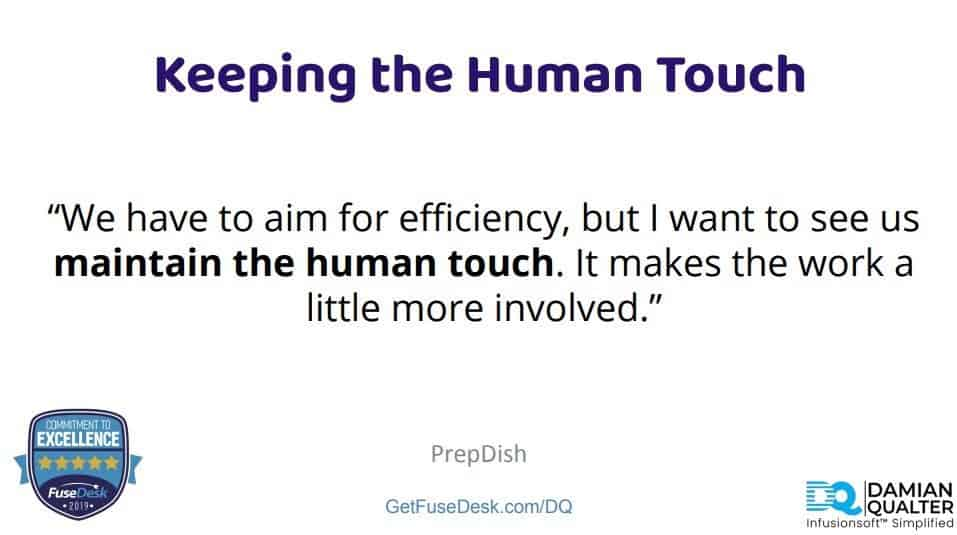 human touch at prepdish