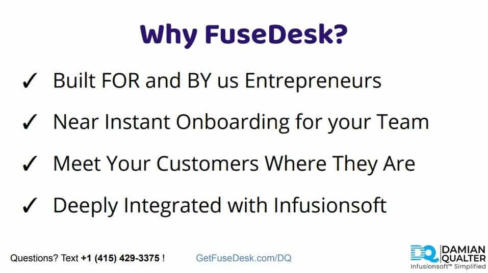 why fusedesk